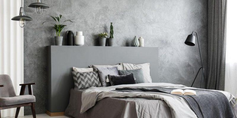 beton na ścianie