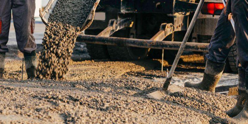 suchy beton